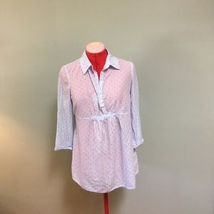 Old Navy Maternity XS button down shirt